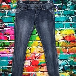 EXPRESS Jeans Zelda Slim Fit Ultra Low Rise 10s